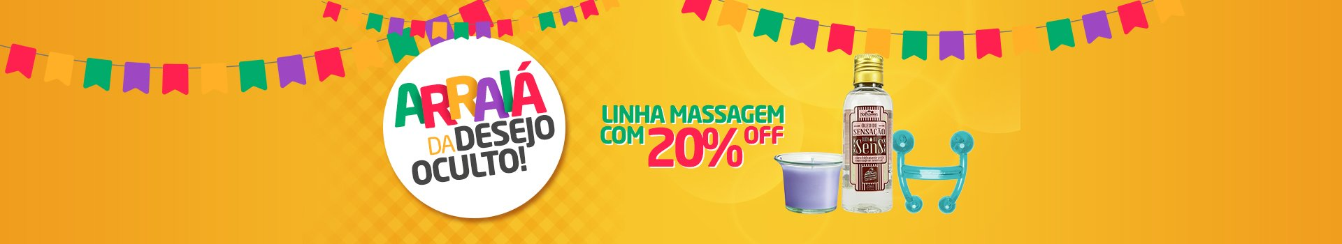 Festa Junina - massagem